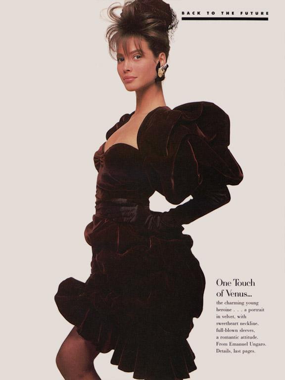A Christy Turlington Gallery : 1986